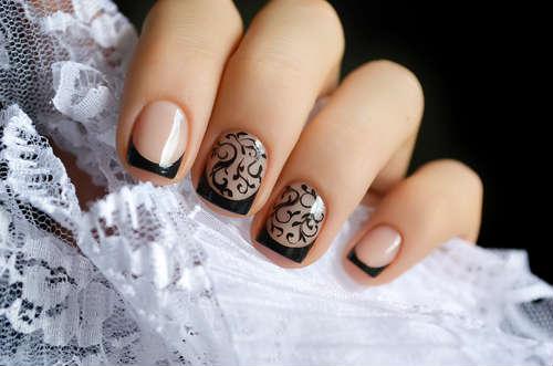 manicura decorada
