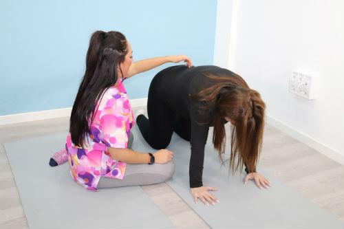 pilates embarazada foot and body 4
