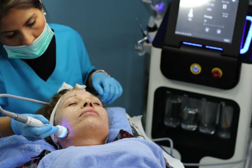 tratamiento facial radiofrecuencia multipolar