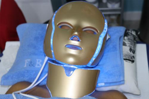 ultrasonido con mascara led