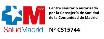 Centro sanitario autorizado por la Consejería de Sanidad de la Comunidad de Madrid